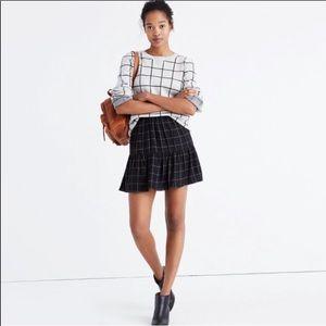MDWL | Windowpane skirt